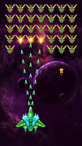 Galaxy Attack: Alien Shooter 7.58 APK MOD screenshots 1