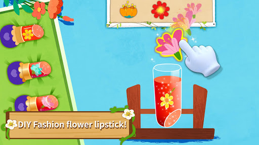 Little Pandau2018s Fashion Flower DIY apkpoly screenshots 4