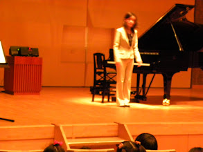 Photo: 彦根市 ひこね市文化プラザ エコーホール ピティナピアノステップ彦根地区2010 ほんものに出会うピアノステップ 出演者席 出演する人はここで待機します。演奏が終わってもここで他のひとの演奏を聞きます。