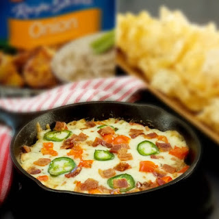 Cheesy Jalapeno Bacon Cheeseburger Dip