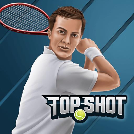 Top Shot 3D: Jogos de Tênis 2018