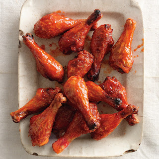 Sweet and Spicy Chicken Drumsticks recipe | Epicurious.com.