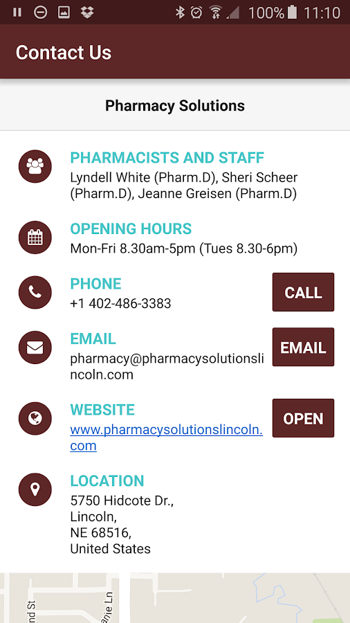 Pharmacy Solutions- screenshot