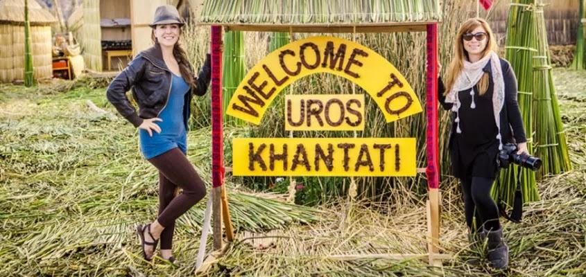 Bienvenida en Khantati | ISLA UROS KHANTATI
