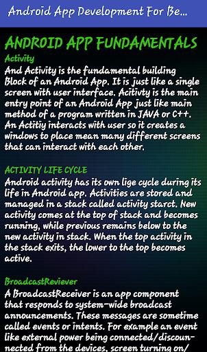 Mobile Application Development (Premium) screenshot 1