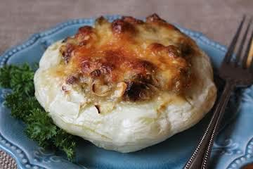 Pattypan Parmesan Stuffed Paradise