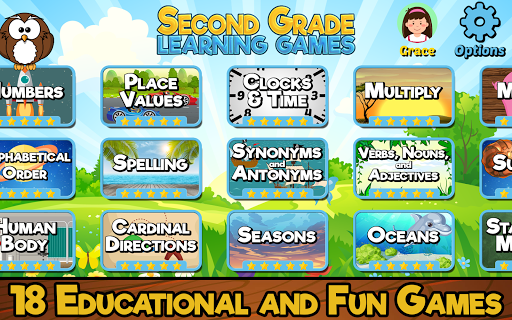 Second Grade Learning Games modavailable screenshots 6