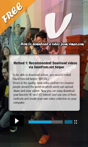How to download video vimeo