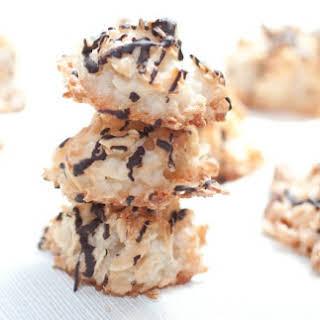 Almond Coconut Macaroons.