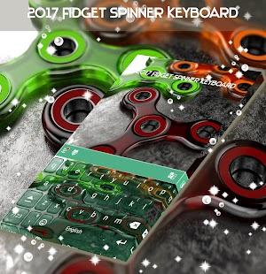 2017 Klávesnice Fidget Spinner - náhled