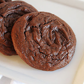 Chocolate Fudge Pepper Cookies