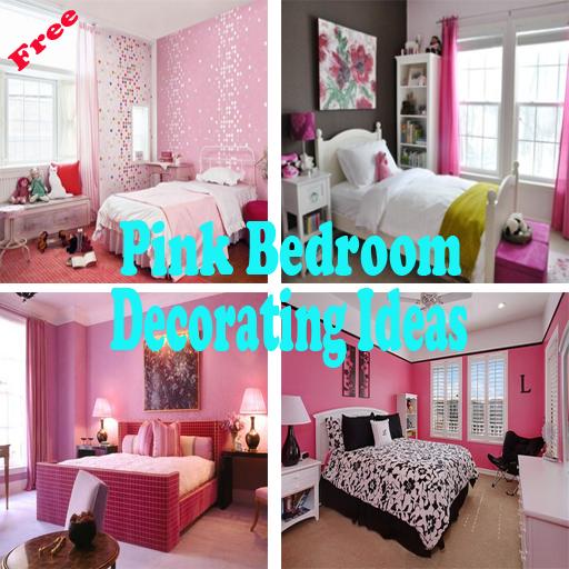 飾るアイデアピンクのベッドルーム 生活 LOGO-玩APPs