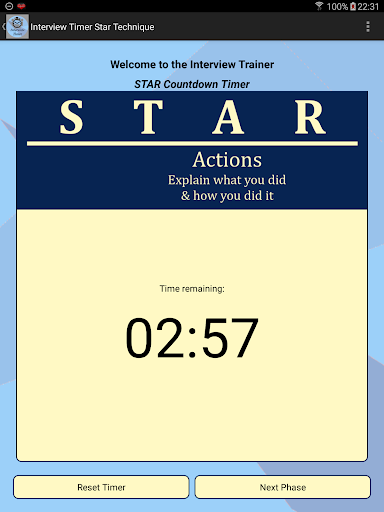 Interview STAR Timer Technique screenshot 5