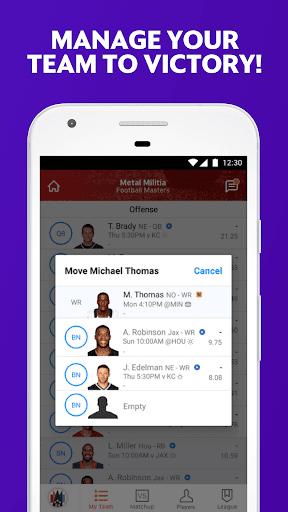 Yahoo Fantasy Sports Screenshot