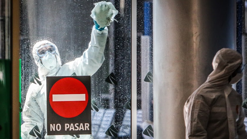 El coronavirus no abandona España.