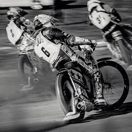 Frrrrrrrrrrr by Jiri Cetkovsky - Sports & Fitness Motorsports ( speedway, bw, quick, sport, race )