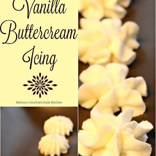Vanilla Buttercream Icing.