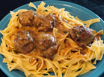Mom's Swedish Meatballs Recipe