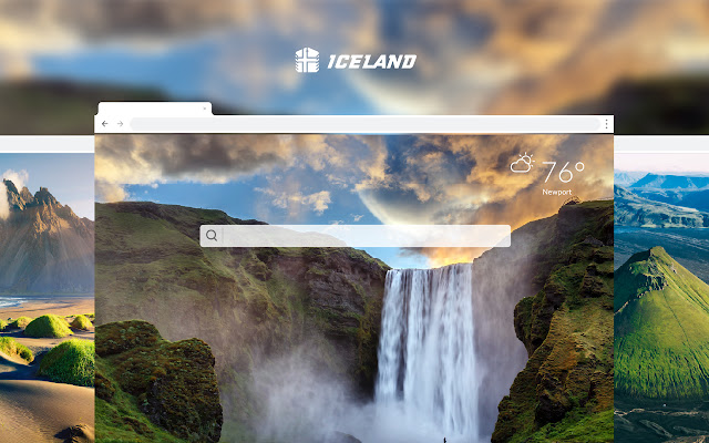 Iceland HD Wallpapers New Tab