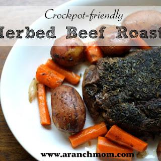 Herbed Beef Roast ~crockpot friendly