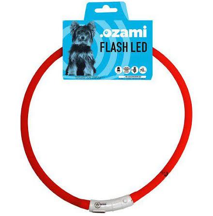 Halsband flash led 70 cm i flera färger
