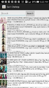 Sari Online shop screenshot 2