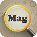 Magnifier Pro - Magnifying Glass with Flashlight icon