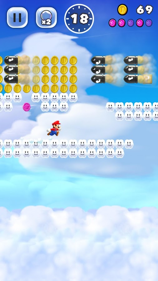 Super Mario Run – zrzut ekranu
