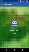 Screenshot of SHMUDroid