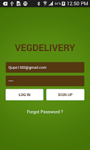 Veg Delivery screenshot 0
