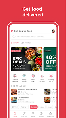 Zomato - Restaurant Finder and Food Delivery Appのおすすめ画像5