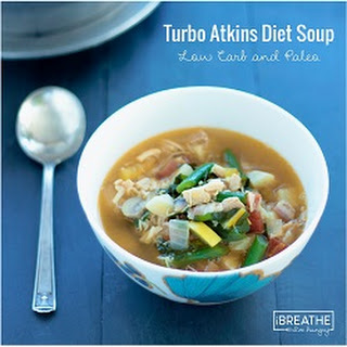 IBIH Turbo Atkins Diet Soup - Low Carb & Paleo
