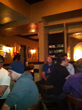 Photo: Last night of the conference at the Royal Oak pub.