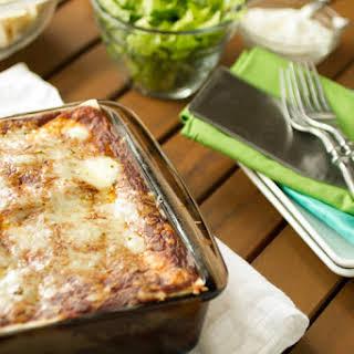 Burrito Casserole, AKA Mexican Lasagna.