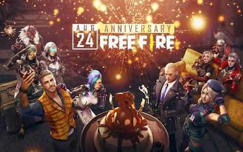 Garena Free Fire - Yıl Dönümü hileli apk