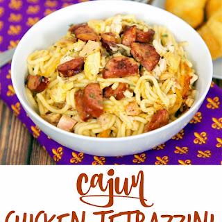 Cajun Chicken Tetrazzini
