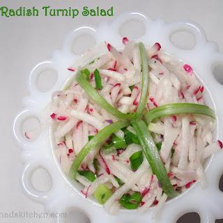 Radish Turnip Salad