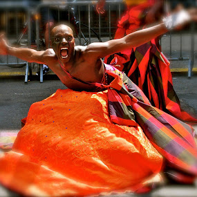 Street Dancer by Clark Crosser - People Musicians & Entertainers ( #nyc #streetdance #manhattan #may #,  )