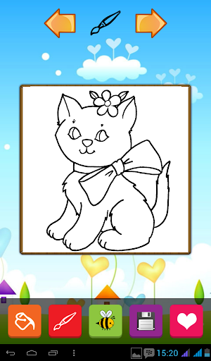 Cute Cats Coloring Games