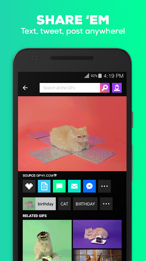 GIPHY - Animated GIFs Search Engine- screenshot