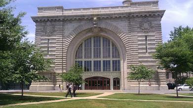 Photo: Entrance to Dahlgren Hall