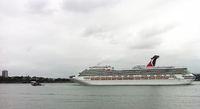Photo: Cruise Ship Leaving New York