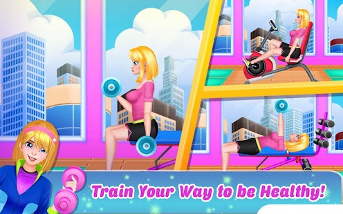 Fitness Photoshoot: Workout Makeover and Dressup - náhled