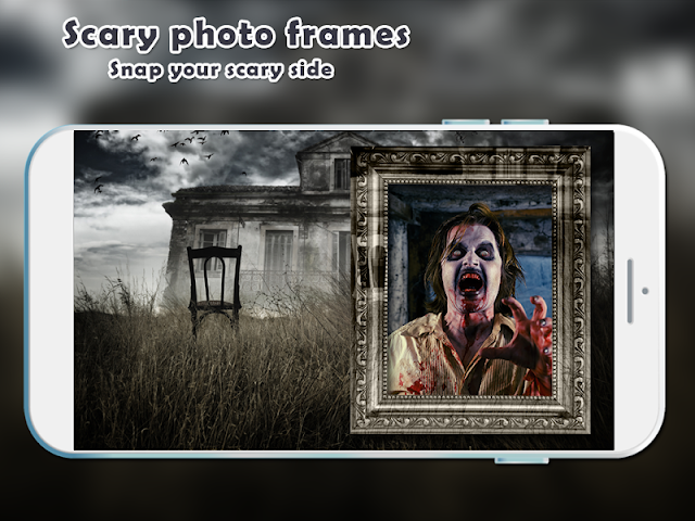 android Scary Photo Frames Screenshot 12