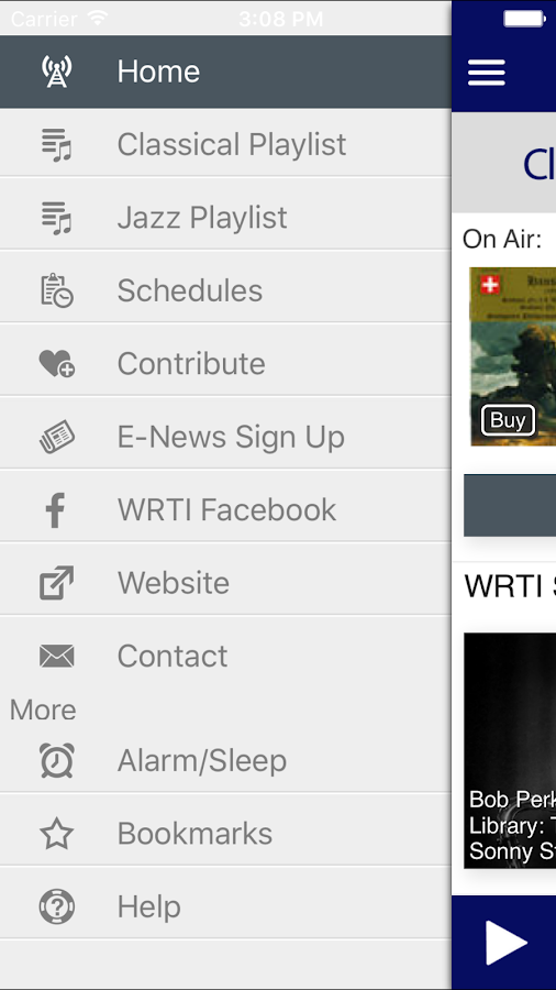 Classical & Jazz Radio WRTI- screenshot