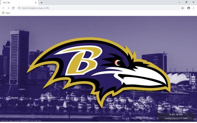 Baltimore Ravens New Tab Theme