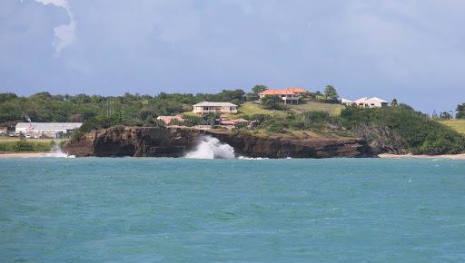 grenada's-west-coast.jpg - The rugged beauty along Grenada's southwestern coast.
