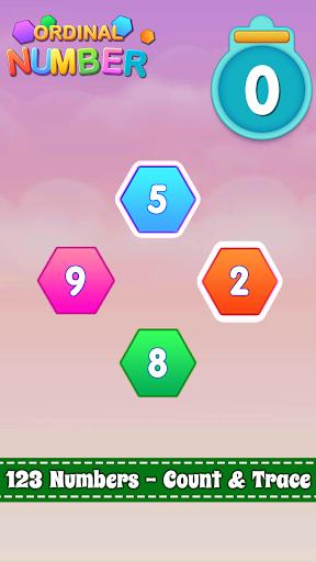 Number Ordinal: Kid Math  screenshots 2