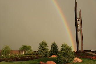 Photo: Ward Bell Tower right after an afternoon thunderstorm.
