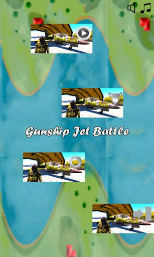 Gunship Jet Battle